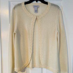 Vintage Carmen Marc Valvo Sweater Cardigan